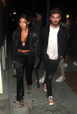 Chantel jeffries - Night out at Delilah in West Hollywood