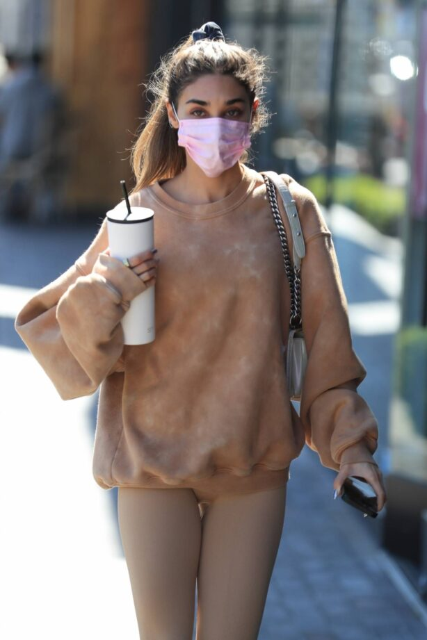 Chantel Jeffries - Out for a pilates workout in West Hollywood