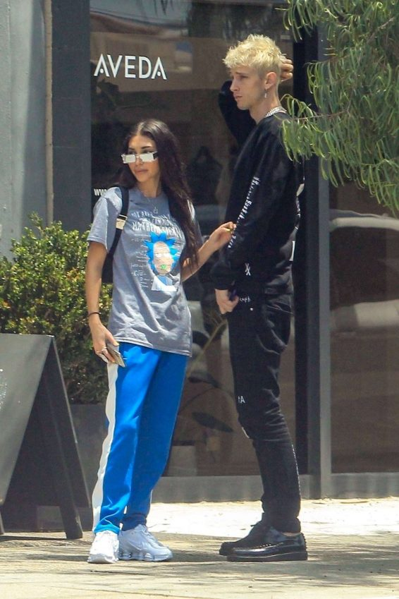 Chantel Jeffries - Out from lunch in Los Angeles