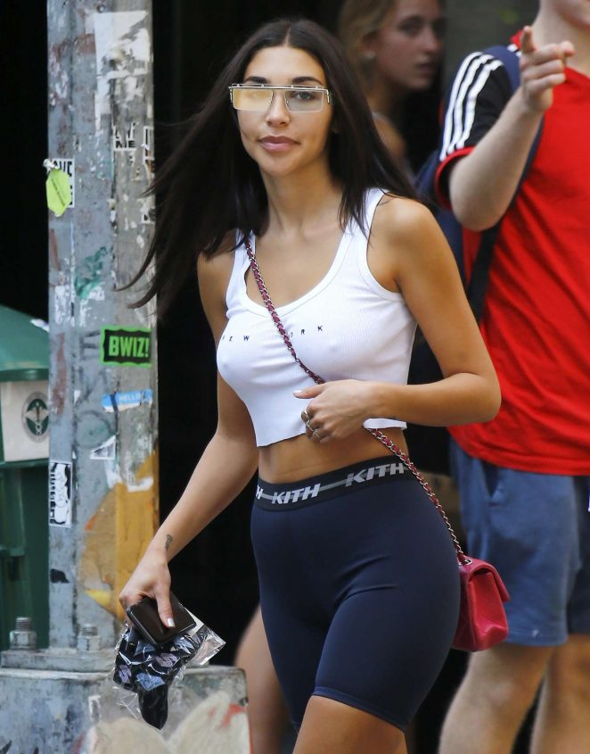 Chantel Jeffries - Out in New York