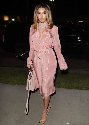 Chantel Jeffries - Revolve Winter Formal Event in Los Angeles