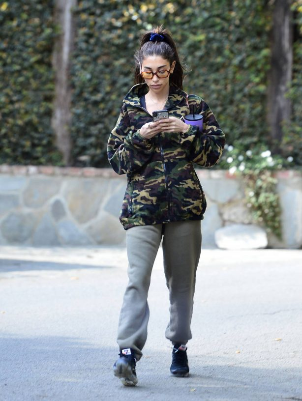 Chantel Jeffries - Seen after morning workout in Los Angeles