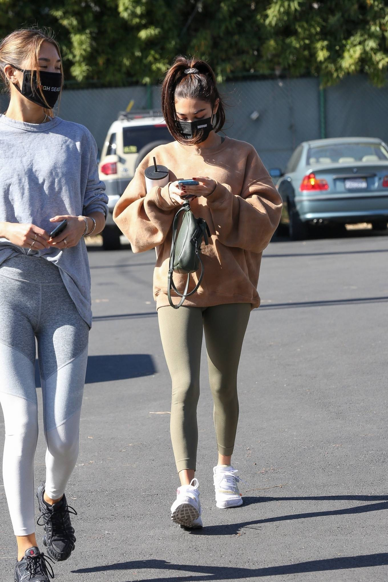 Chantel Jeffries 2020 : Chantel Jeffries – seen at Dogpound with a friend in Los Angeles-01