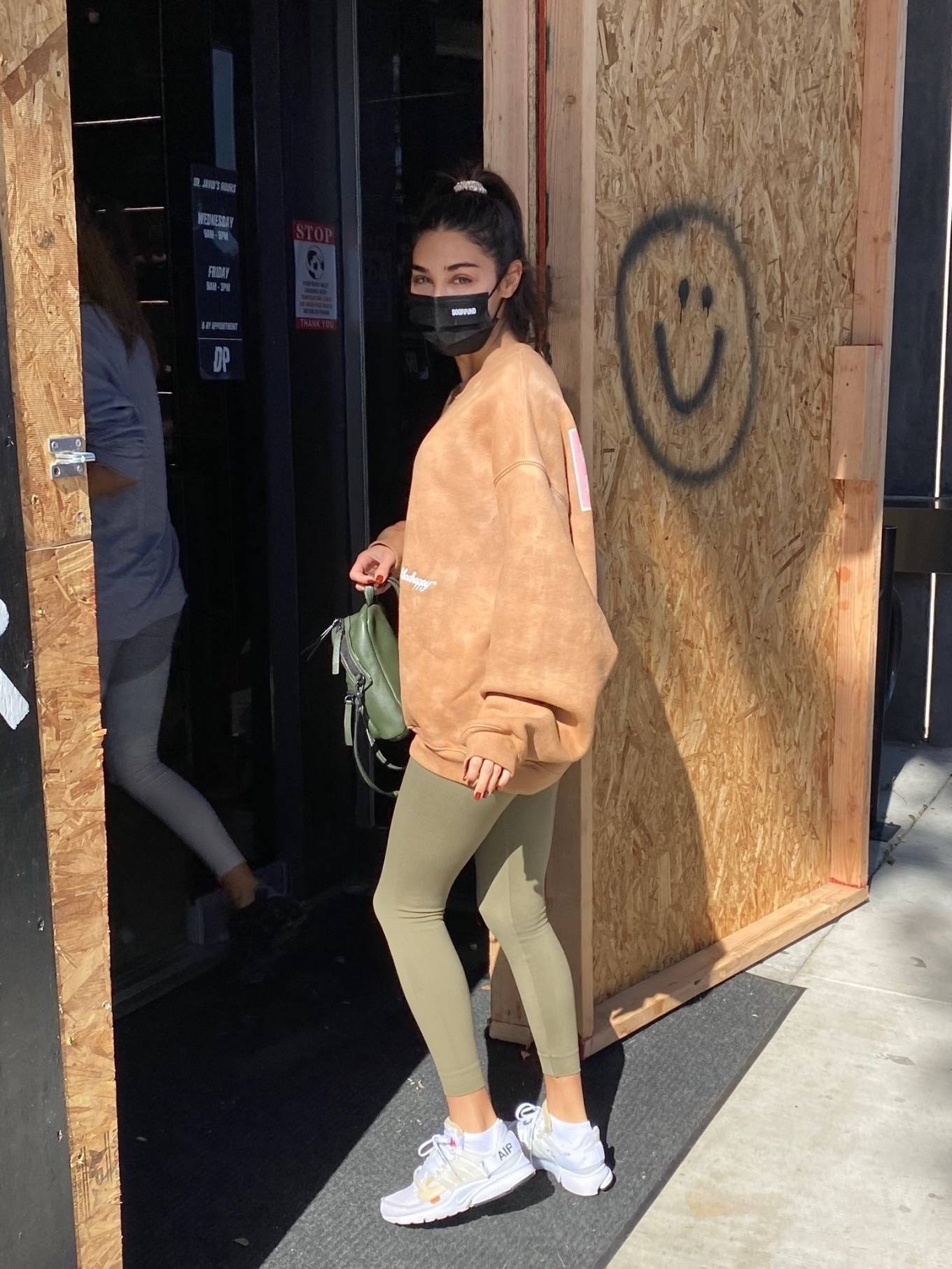 Chantel Jeffries 2020 : Chantel Jeffries – seen at Dogpound with a friend in Los Angeles-03