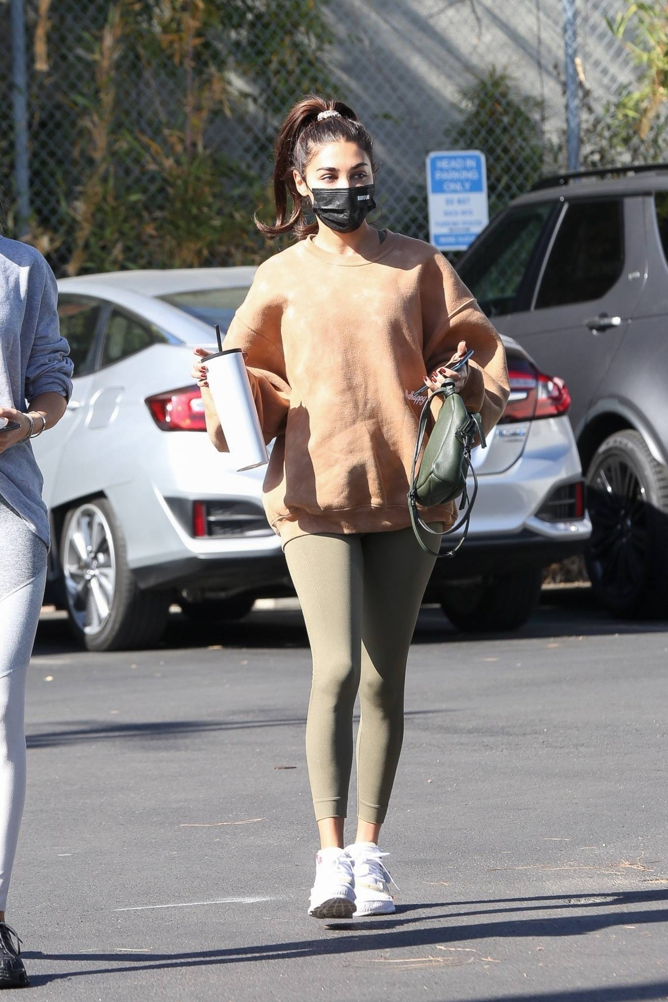 Chantel Jeffries 2020 : Chantel Jeffries – seen at Dogpound with a friend in Los Angeles-04