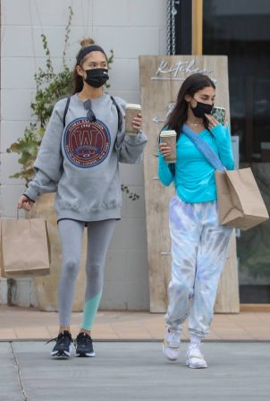 Chantel Jeffries - Seen with a friend in West Hollywood