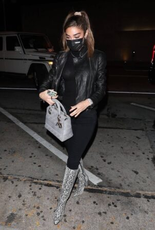 Chantel Jeffries - Spotted at Craig's in West Hollywood