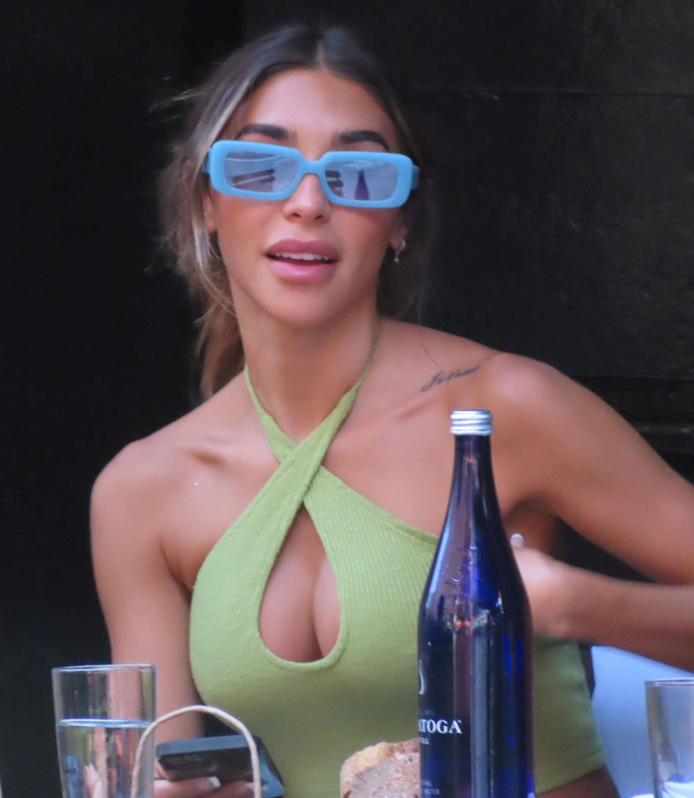 Chantel Jeffries - Spotted in New York