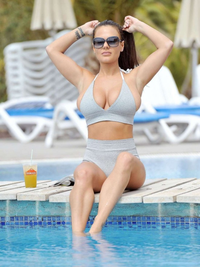 Chantelle Connelly in Bikini in Tenerife