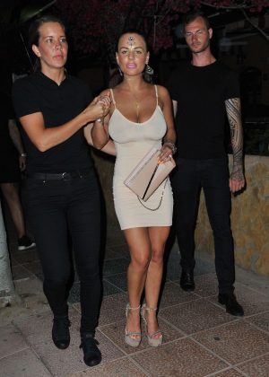 Chantelle Connelly - Geordie Shore Filming Continues in Magaluf