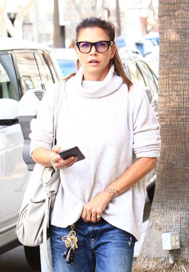Charisma Carpenter in Jeans Out in Los Angeles