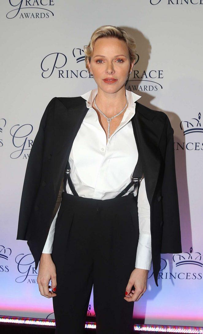 Charlene of Monaco - 2018 Princess Grace Awards Gala in New York City