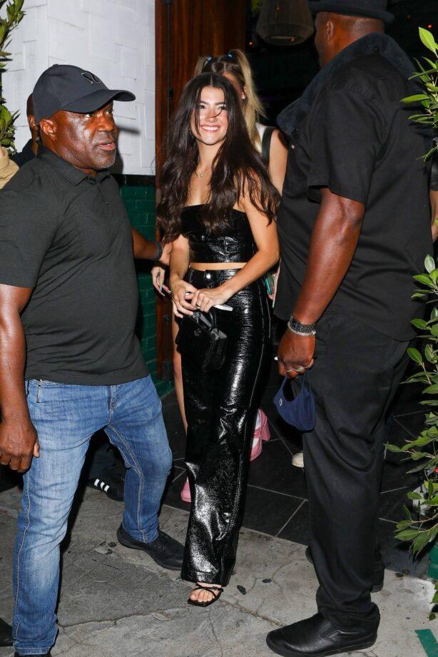 Charli D'amelio - leaving Lexi Jayde's birthday celebration in Los Angeles