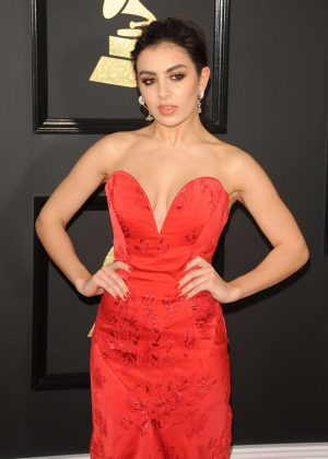 Charli XCX - 59th GRAMMY Awards in Los Angeles