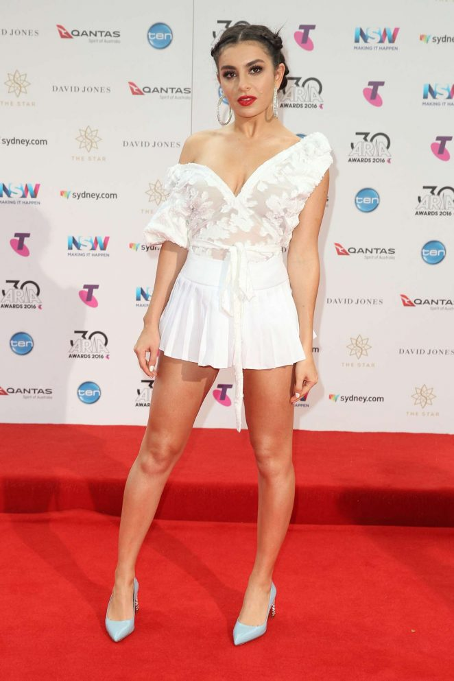 Charli XCX - ARIA Awards 2016 in Sydney