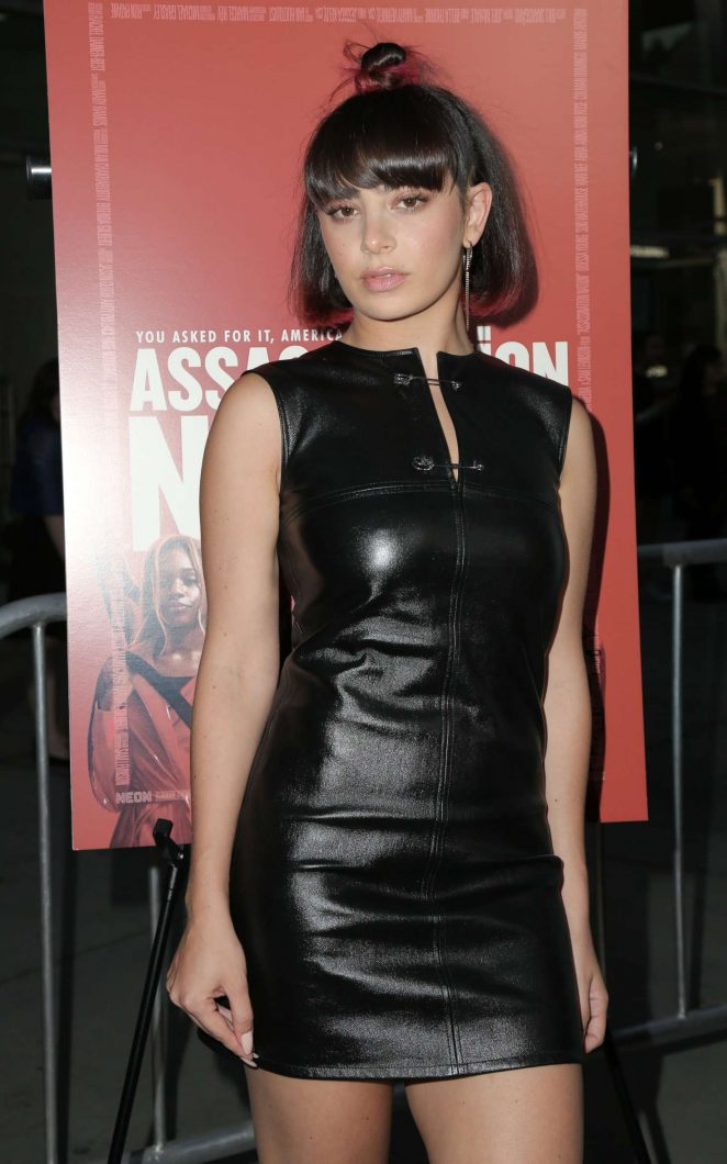 Charli XCX - 'Assassination Nation' Premiere in Los Angeles