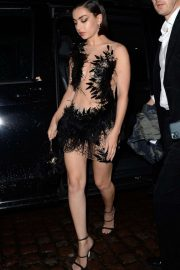 Charli XCX attending The Brits Awards 2020 After Party in London