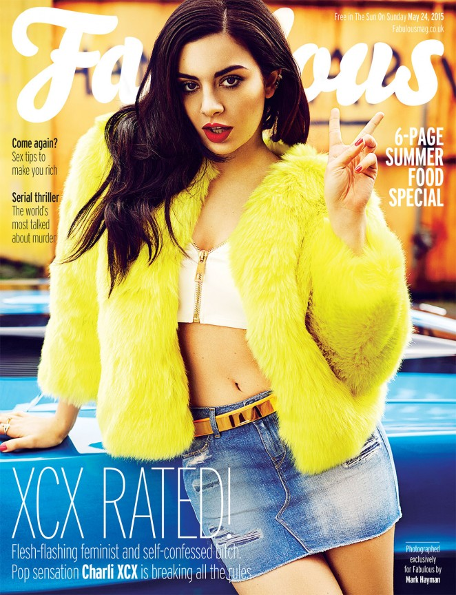Charli XCX - Fabulous Magazine (May 2015)