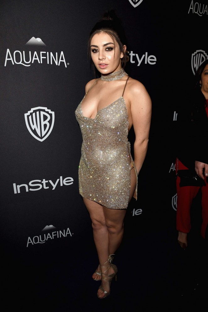 Charli xcx instyle and warner bros 2016 golden globe for Lindsay aitchison