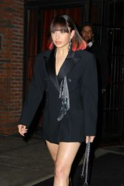 Charli XCX - Leaving the Bowery Hotel in New York City