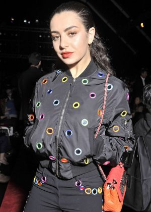 Charli XCX - Moschino Show 2017 at Milan Fashion Week in Italy