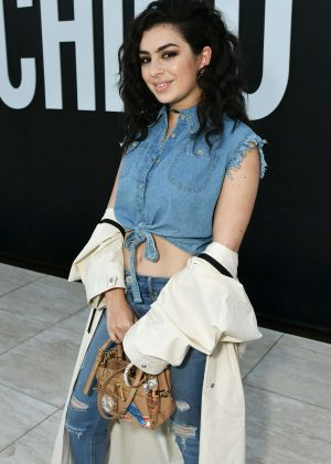 Charli XCX - MOSCHINO SS 2018 Resort Collection in LA