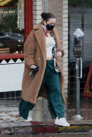 Charli XCX - out and about in Los Feliz