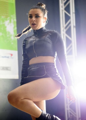 Charli XCX - Performing at SoundExchange Show at SXSW 2016 Austin