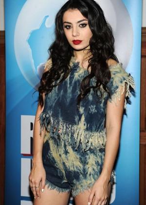 Charli XCX - Rock in Rio USA Press Conference in Los Angeles