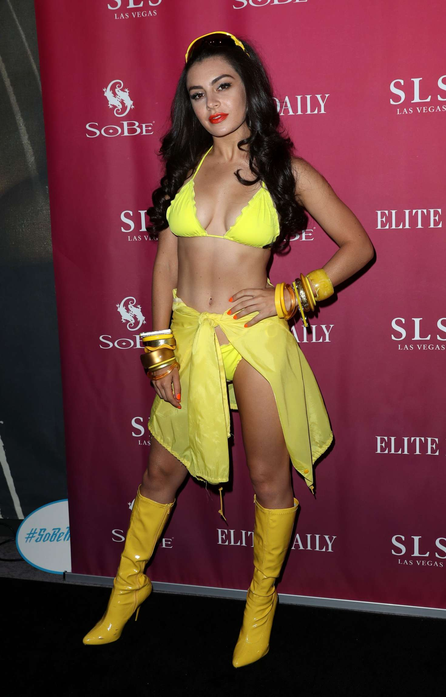 Charli XCX – SoBe Celebrates 21st Birthday at SLS in Las Vegas