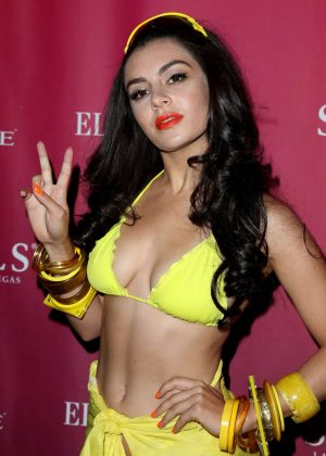 Charli XCX - SoBe Celebrates 21st Birthday at SLS in Las Vegas