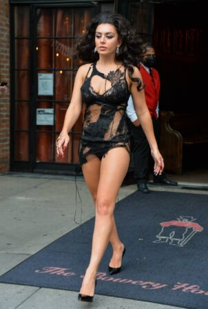 Charli XCX - Steps out in New York
