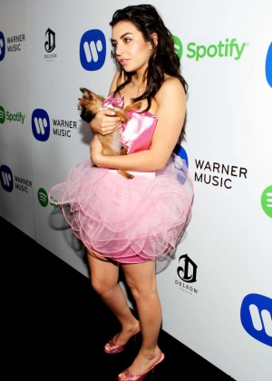 Charli XCX - Warner Music Group annual Grammy celebration -04
