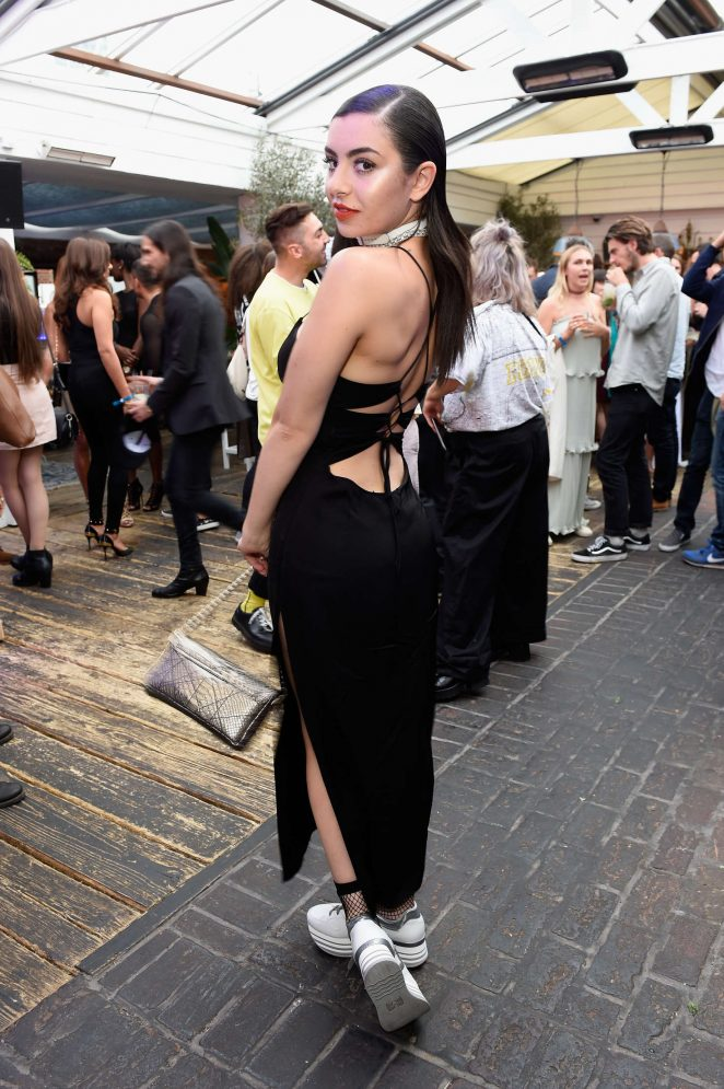 Charli XCX: Warner Music Group Summer Party -03