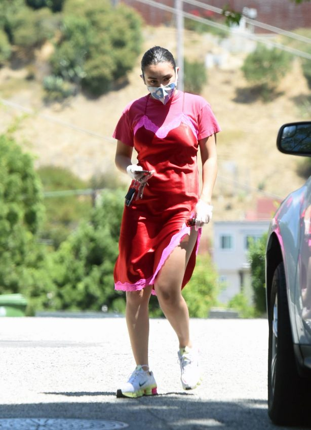 Charli XCX With Boyfriend Huck Kwong - Out for a stroll in Los Angeles