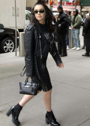Charli XCX - Yeezy Season 3 Fashion Show in New York