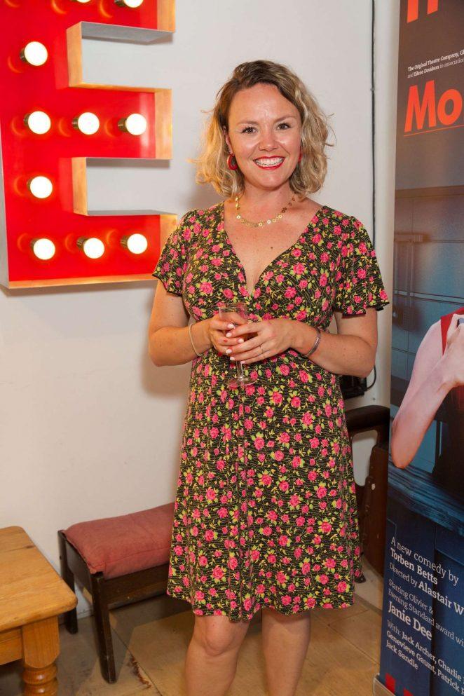Charlie Brooks - 'Monogamy' Play Press Night in London