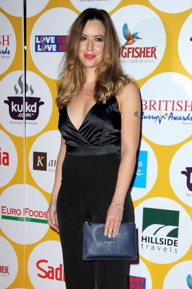 Charlie Webster - British Curry Awards 2016 in London