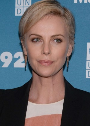 Charlize Theron - 2015 Social Good Summit at the 92Y in NY
