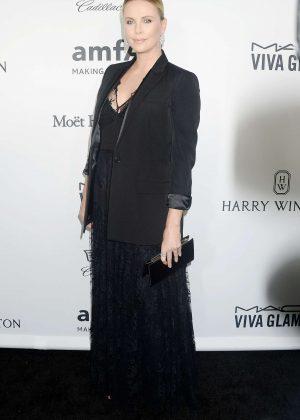 Charlize Theron - 2016 amfAR Inspiration Gala in Los Angeles