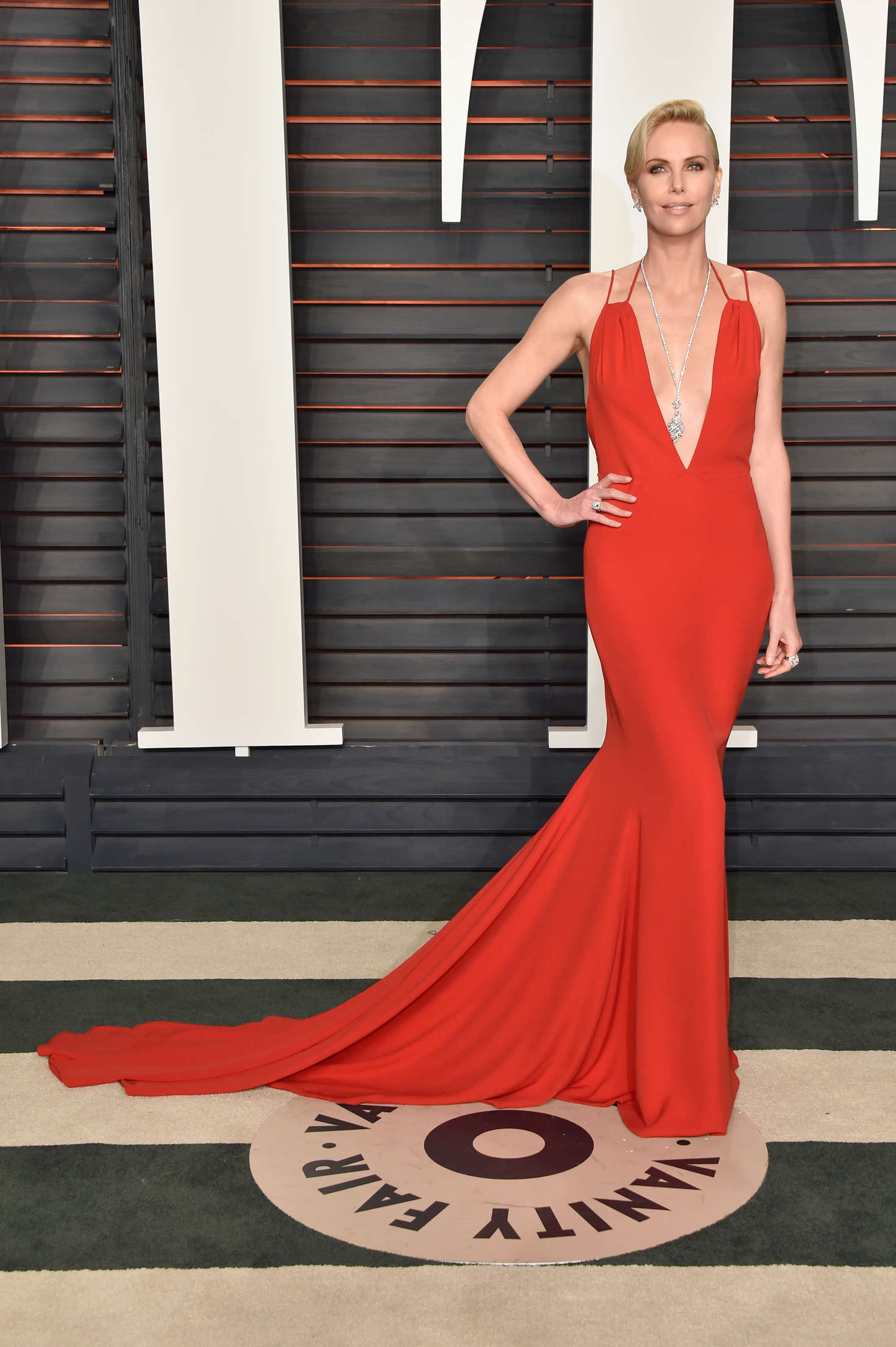 Charlize Theron - 2016 Vanity Fair Oscar Party in Beverly Hills