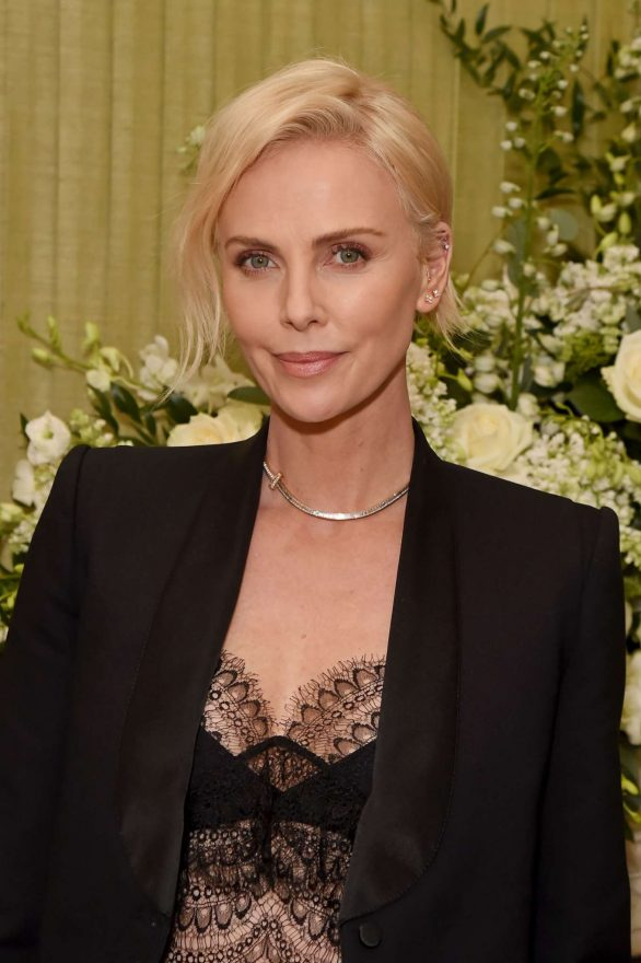 Charlize Theron - 2020 British Vogue and Tiffany Fashion and Film Party in London