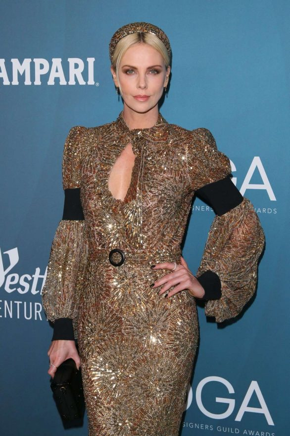 Charlize Theron - 2020 Costume Designers Guild Awards in Beverly Hills