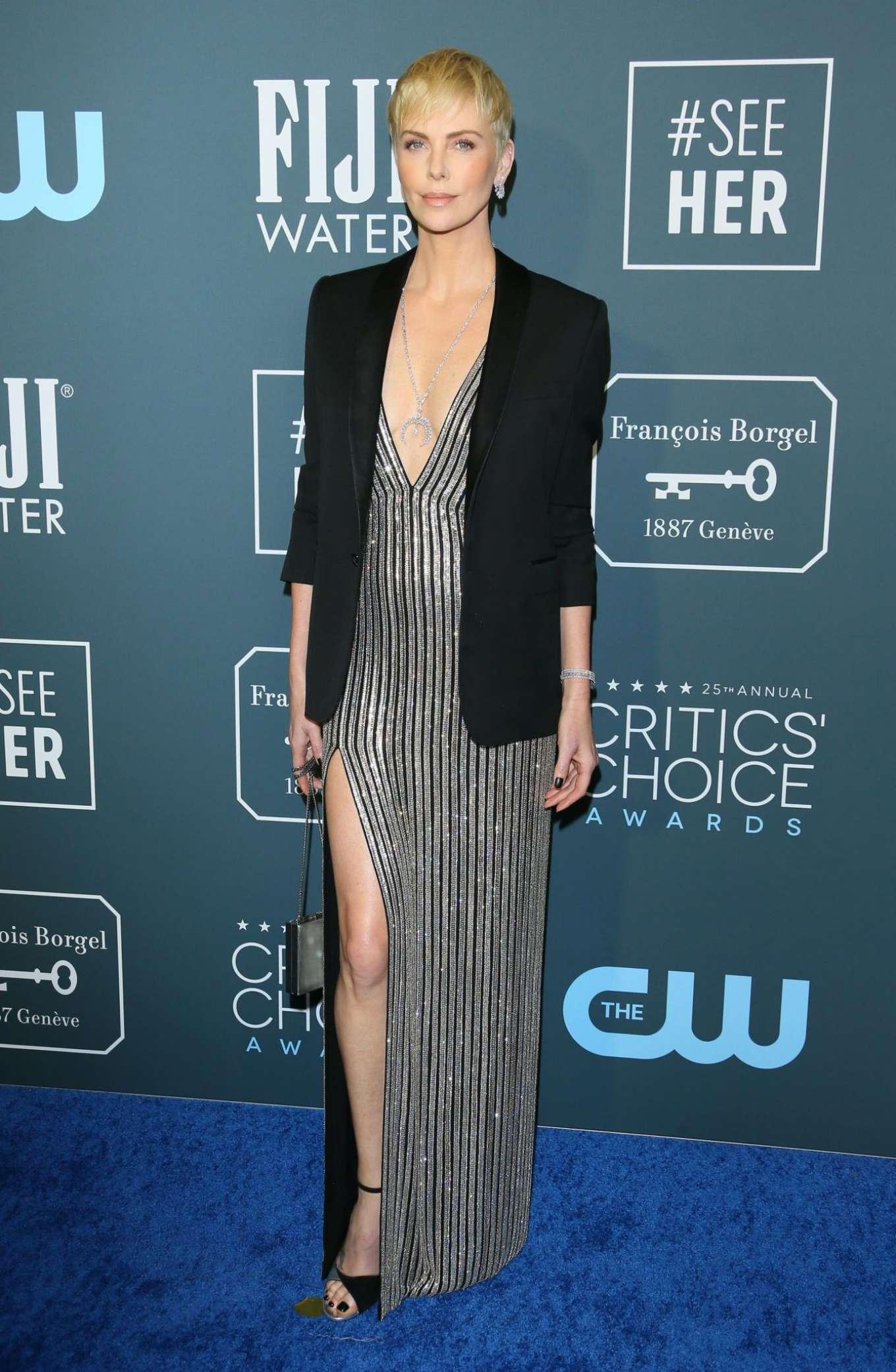 Charlize Theron - 2020 Critics Choice Awards in Santa Monica