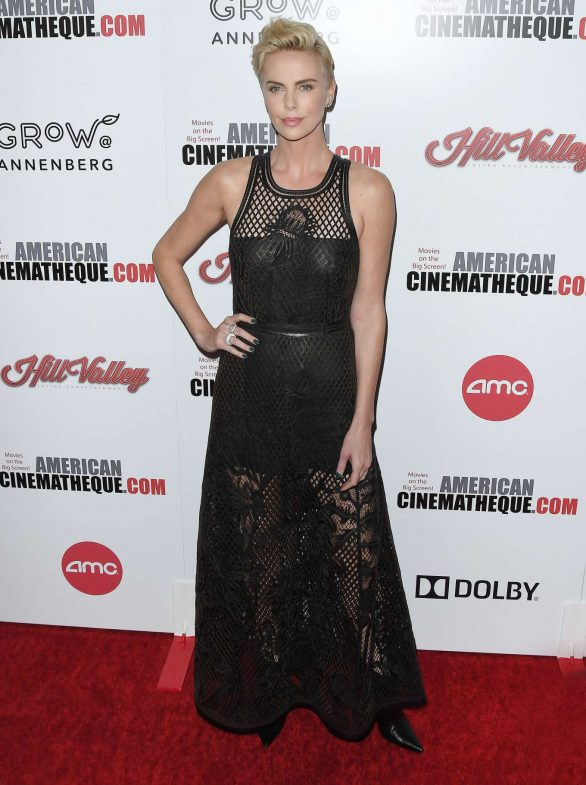 Charlize Theron - 33rd American Cinematheque Award Presentation Honoring Charlize Theron in LA
