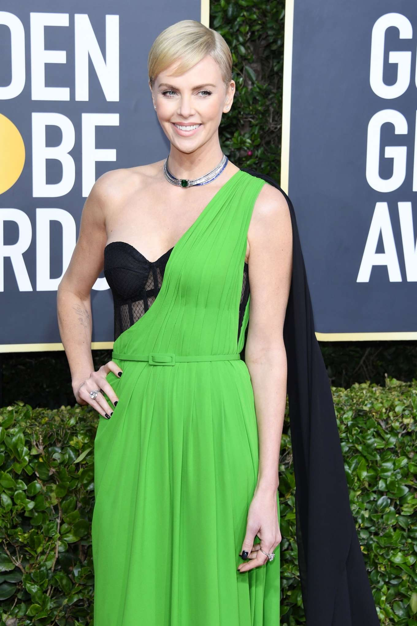 Charlize Theron - 2020 Golden Globe Awards in Beverly Hills