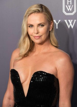 Charlize Theron - amfAR Gala 2017 in Hong Kong