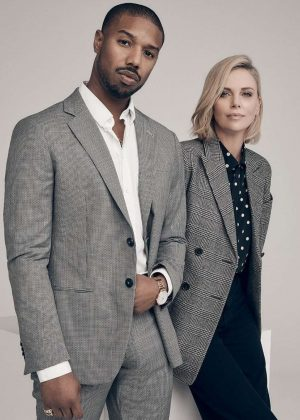 Charlize Theron and Michael B. Jordan - Variety Magazine (December 2018)