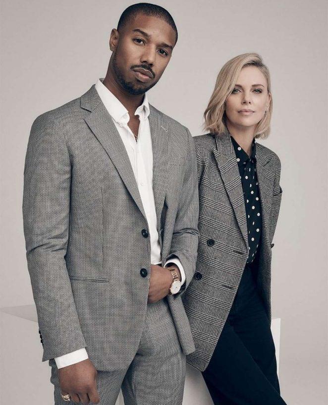 Charlize Theron and Michael B. Jordan - Variety Magazine (December 2018)