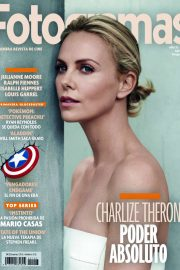 Charlize Theron and Seth Rogen - Fotogramas Magazine (May 2019)